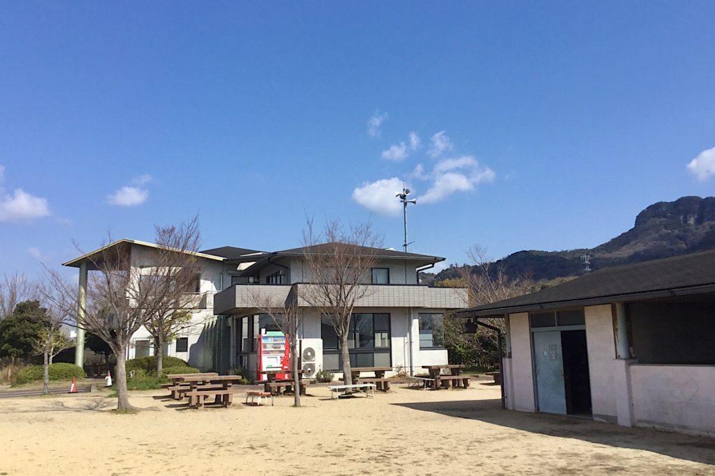 御山公園プレイセンター外観